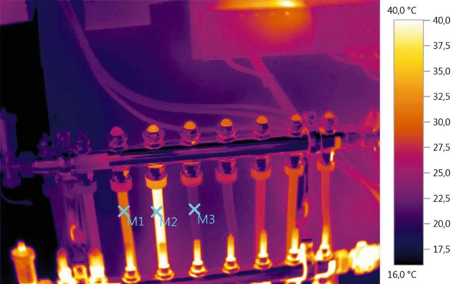 Thermal Image flow and check temperature