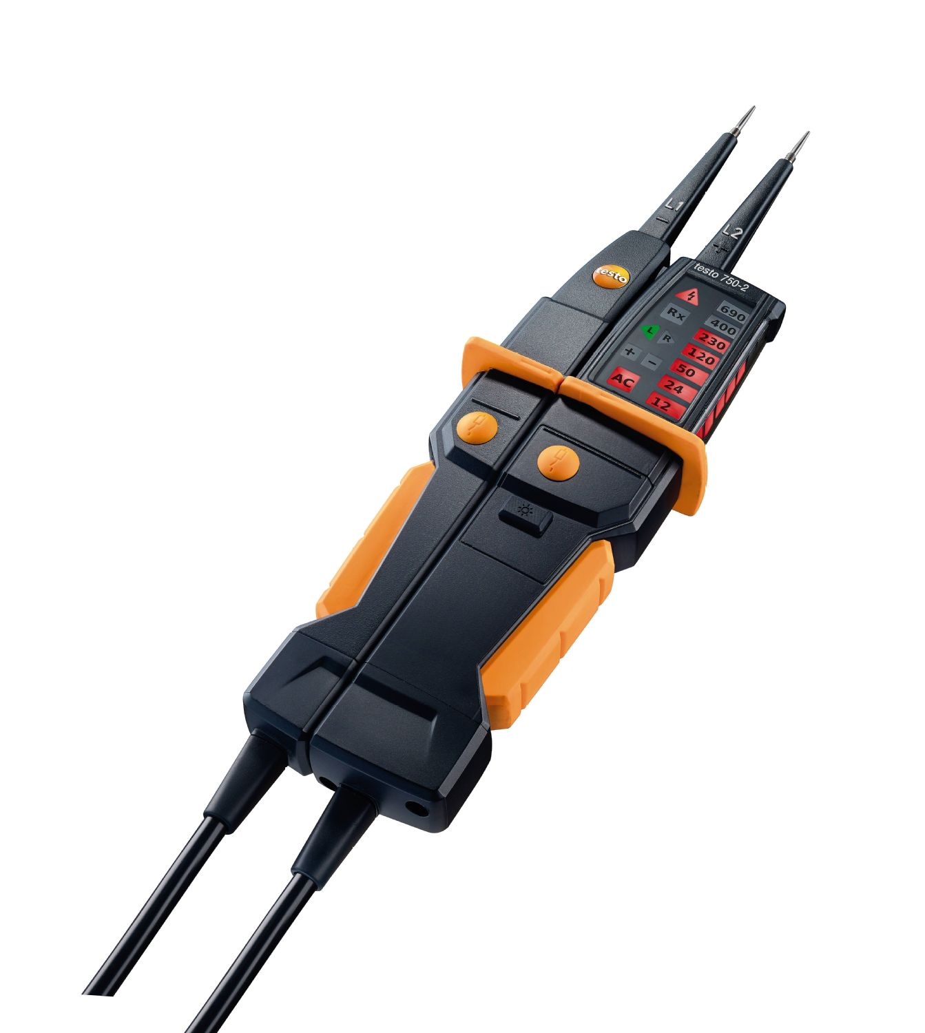 Testo 750 2 Voltage Tester Electrical Parameters Led Stroboscope Circuit Product