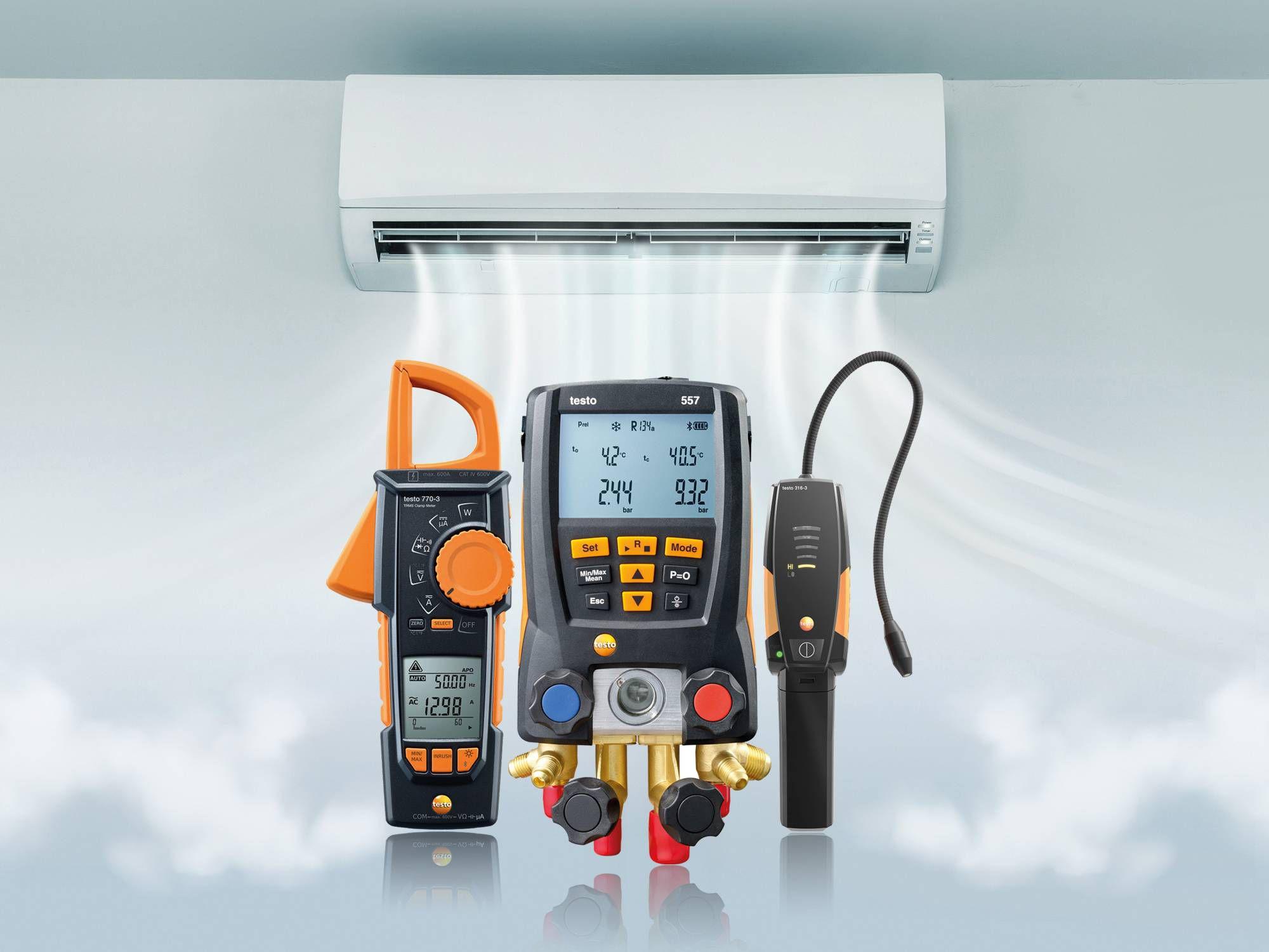 Tecnología para mediciones en refrigeración