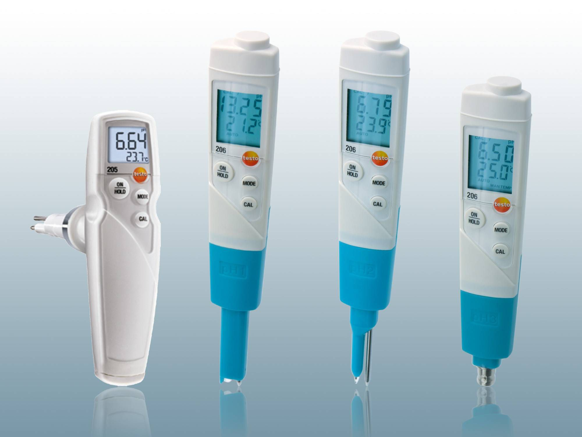 pH-meters van Testo