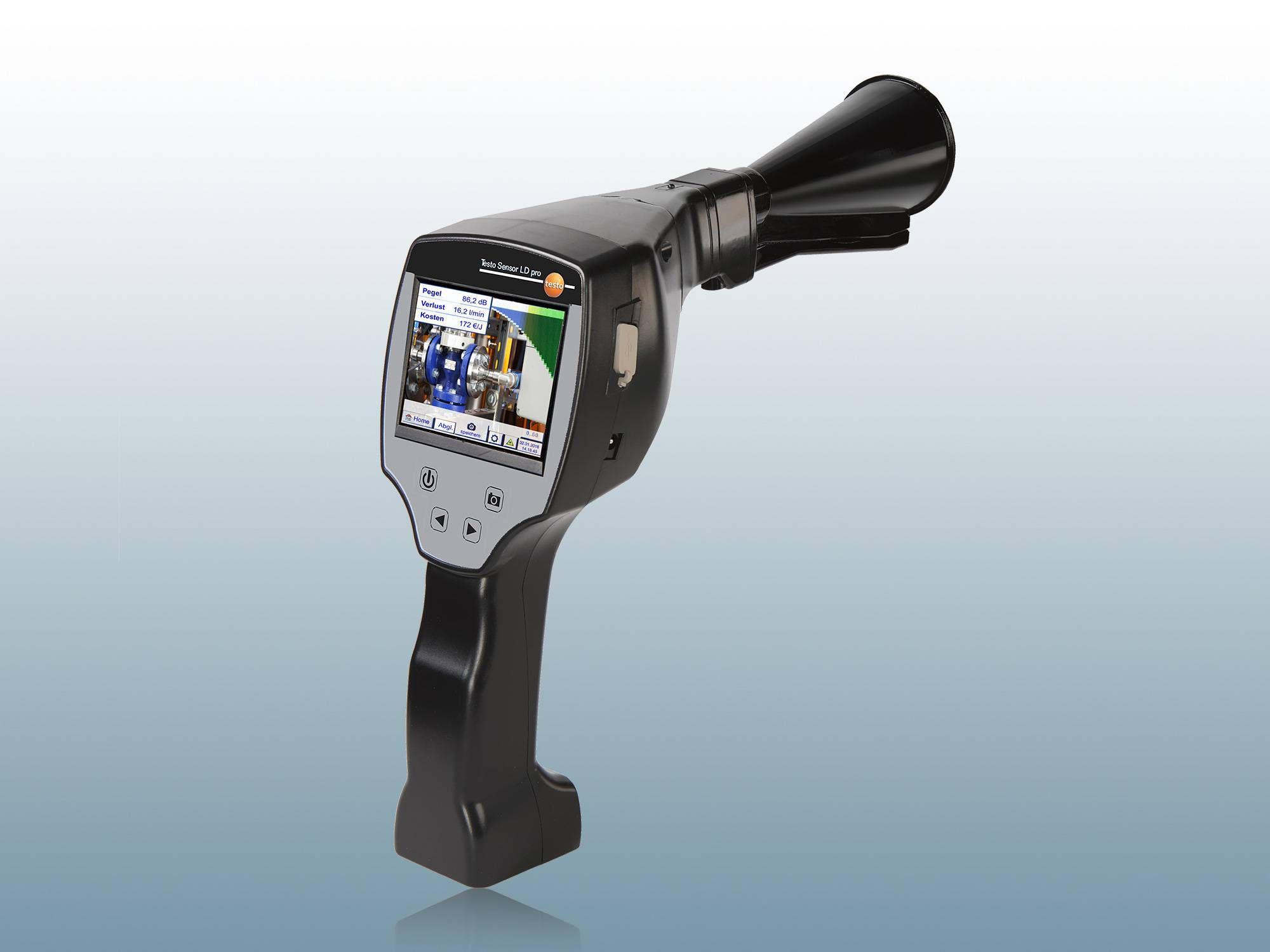 <p>testo Sensor LD pro</p><p>Leckage-Suchger&auml;t mit Kamera</p>
