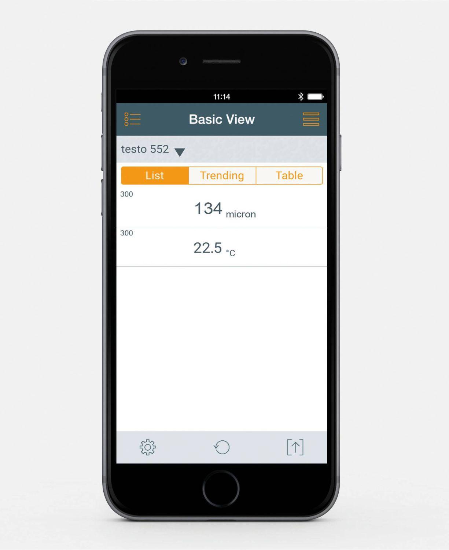 testo 552 App