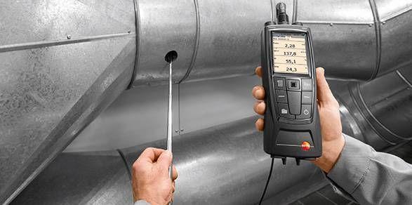 Instrumento de medição para análise de VAC testo 480