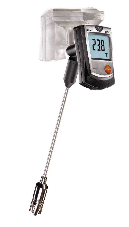 Pantalla giratoria en el termómetro testo 905 T2
