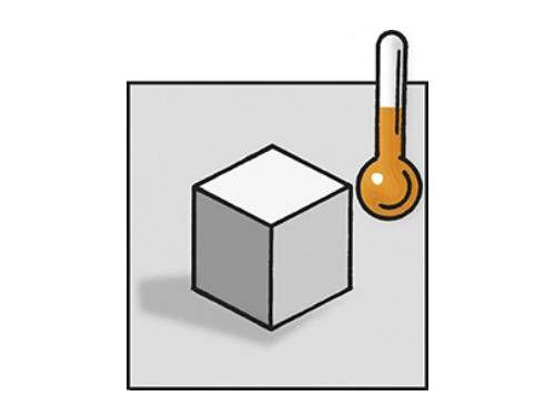 Entorno de medición e imagen térmica