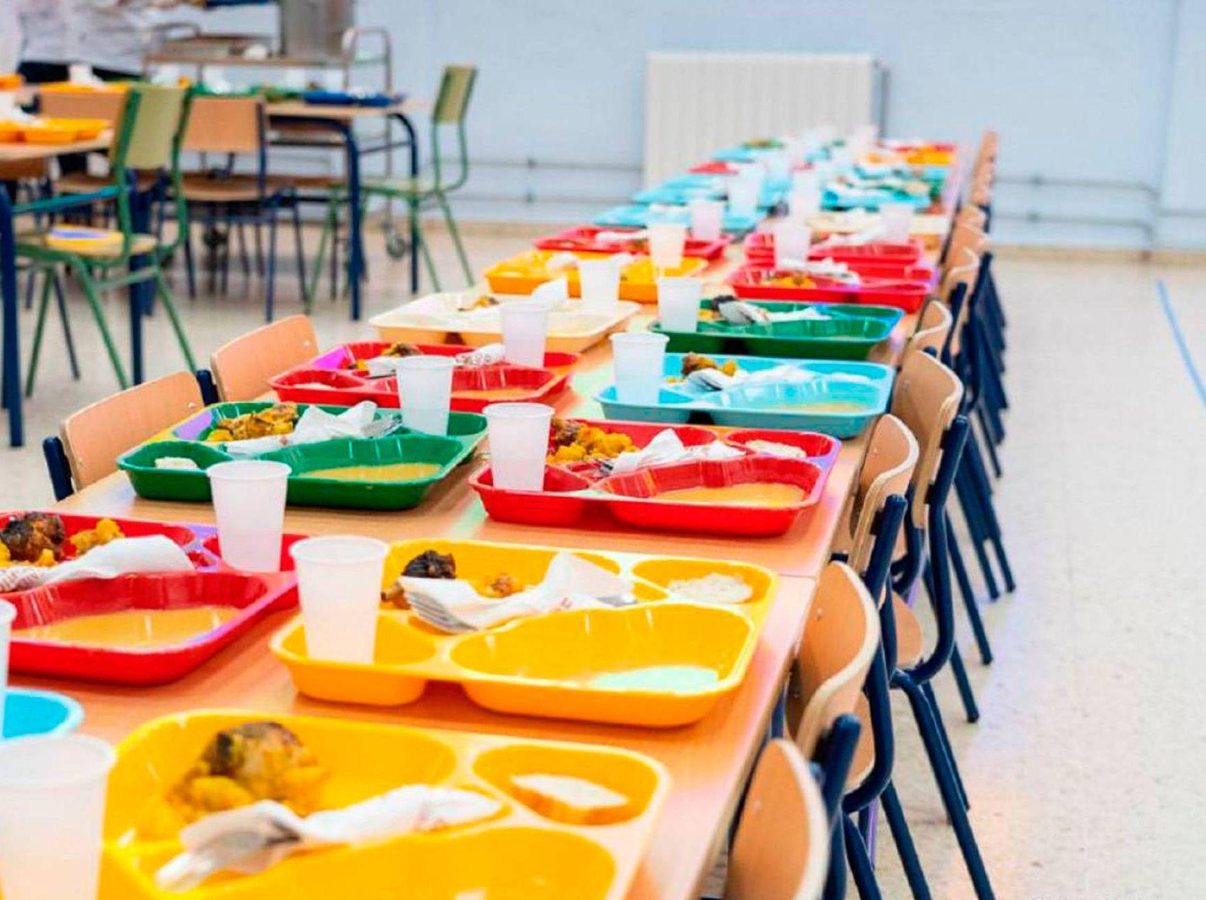 Calidad de los alimentos en comedores escolares