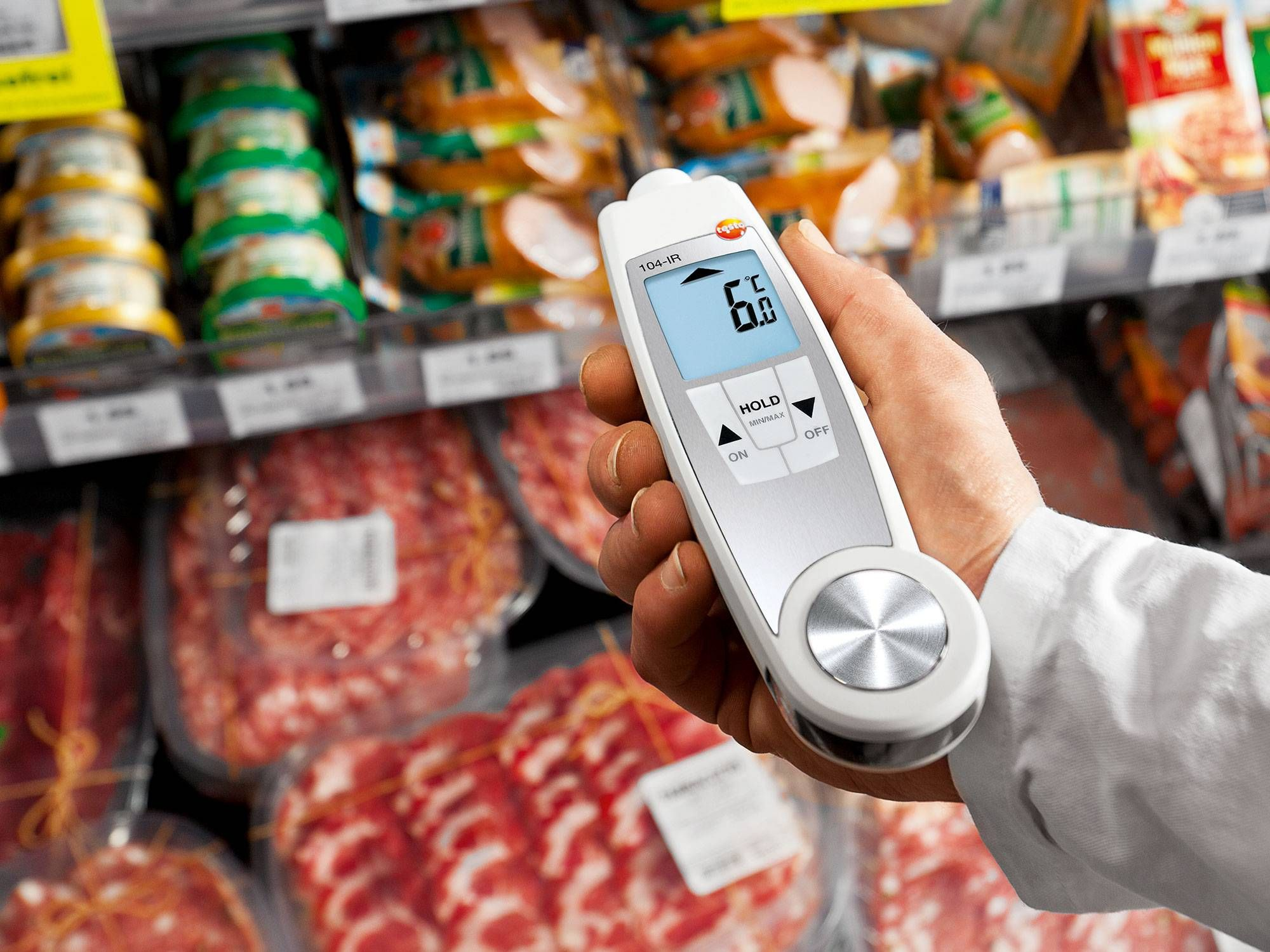 Measuring food temperatures