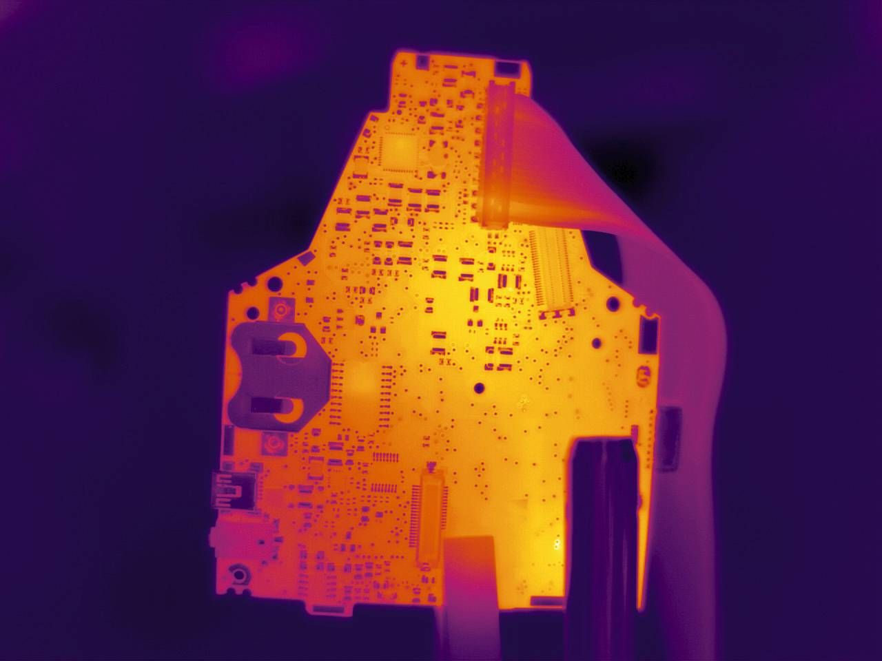 Thermal image circuit board