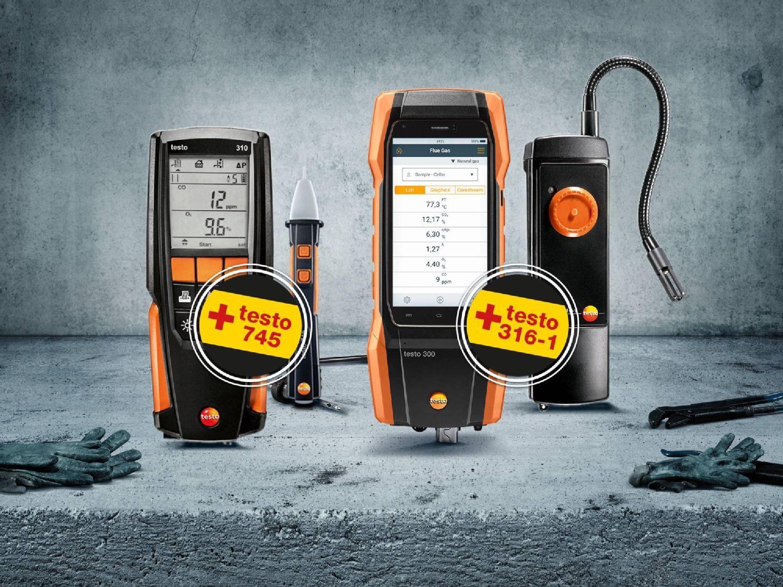 testo 300 promo kit and e-screwdriver set speedE® from Wiha