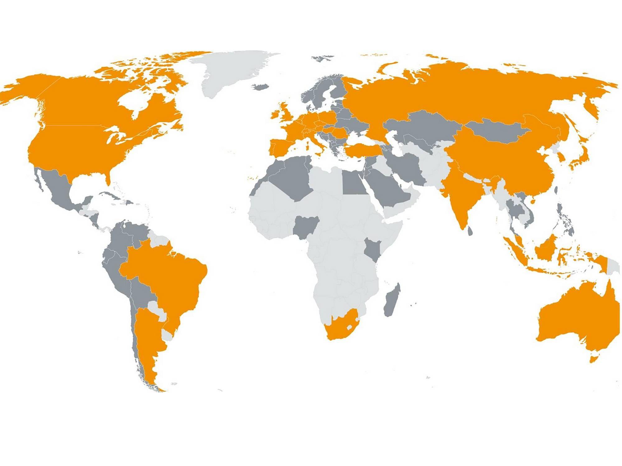 Testo worldwide