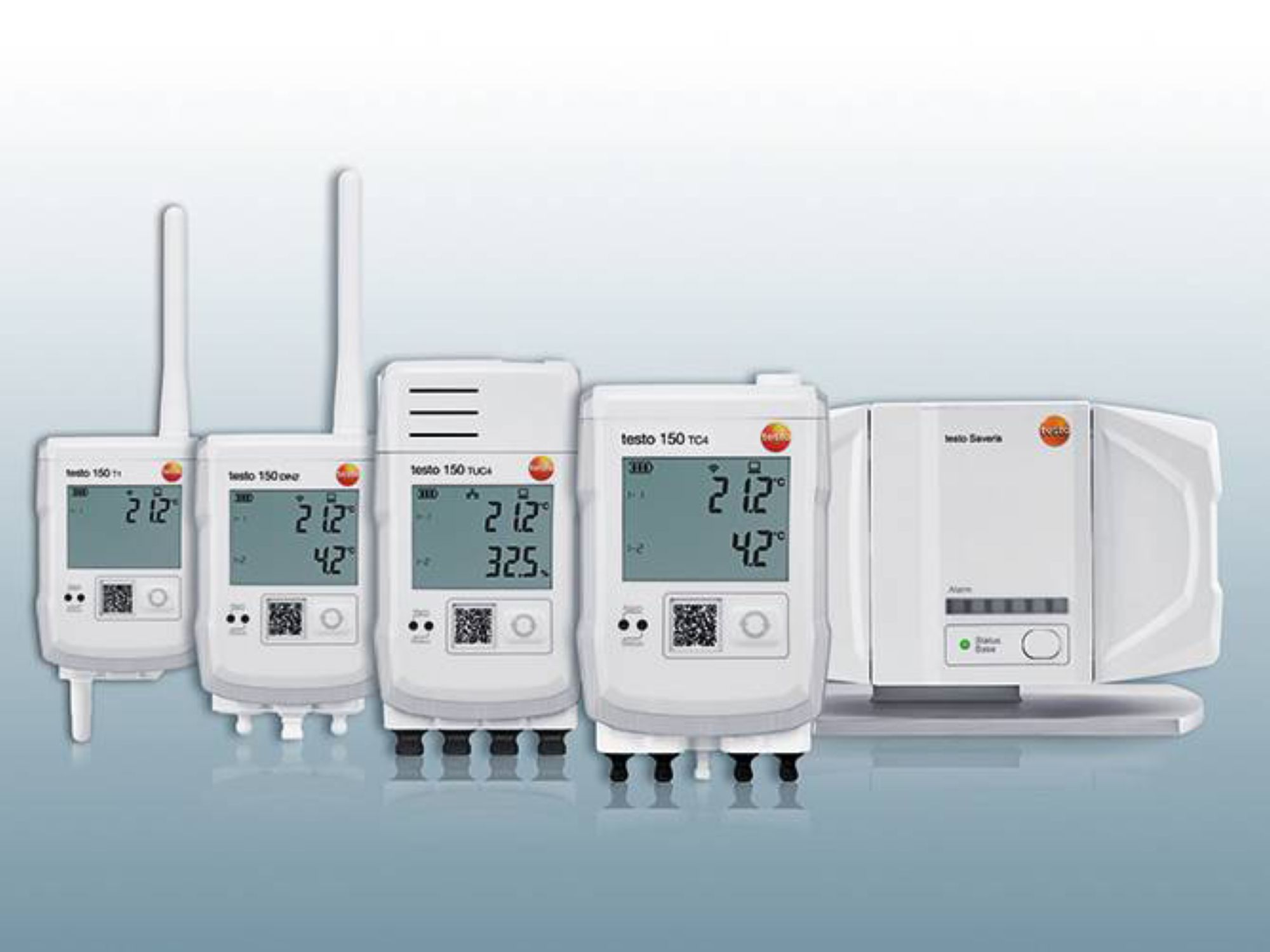 Temperature monitoring with the testo Saveris data logger system