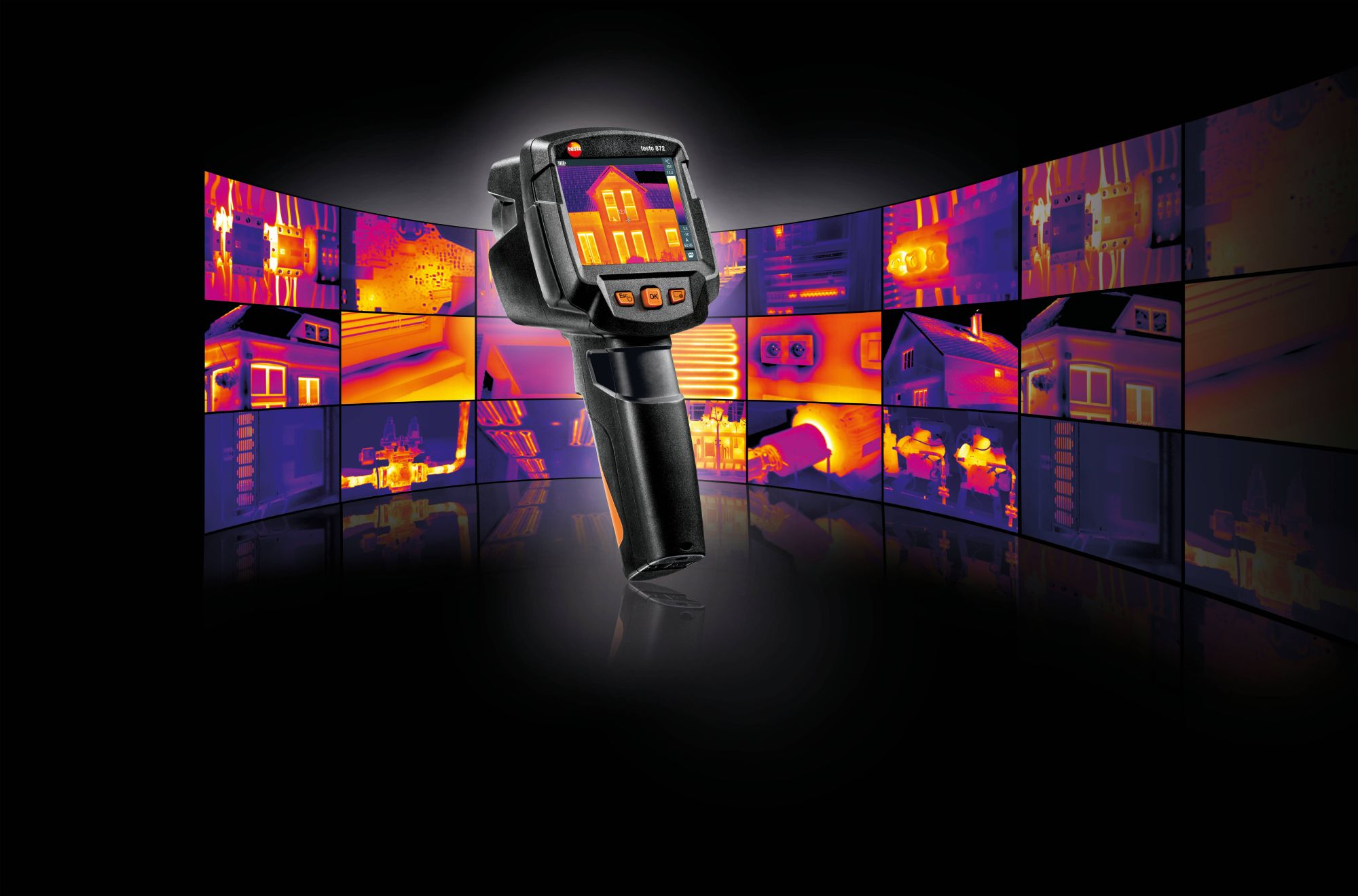 The new thermal imagers  from Testo.