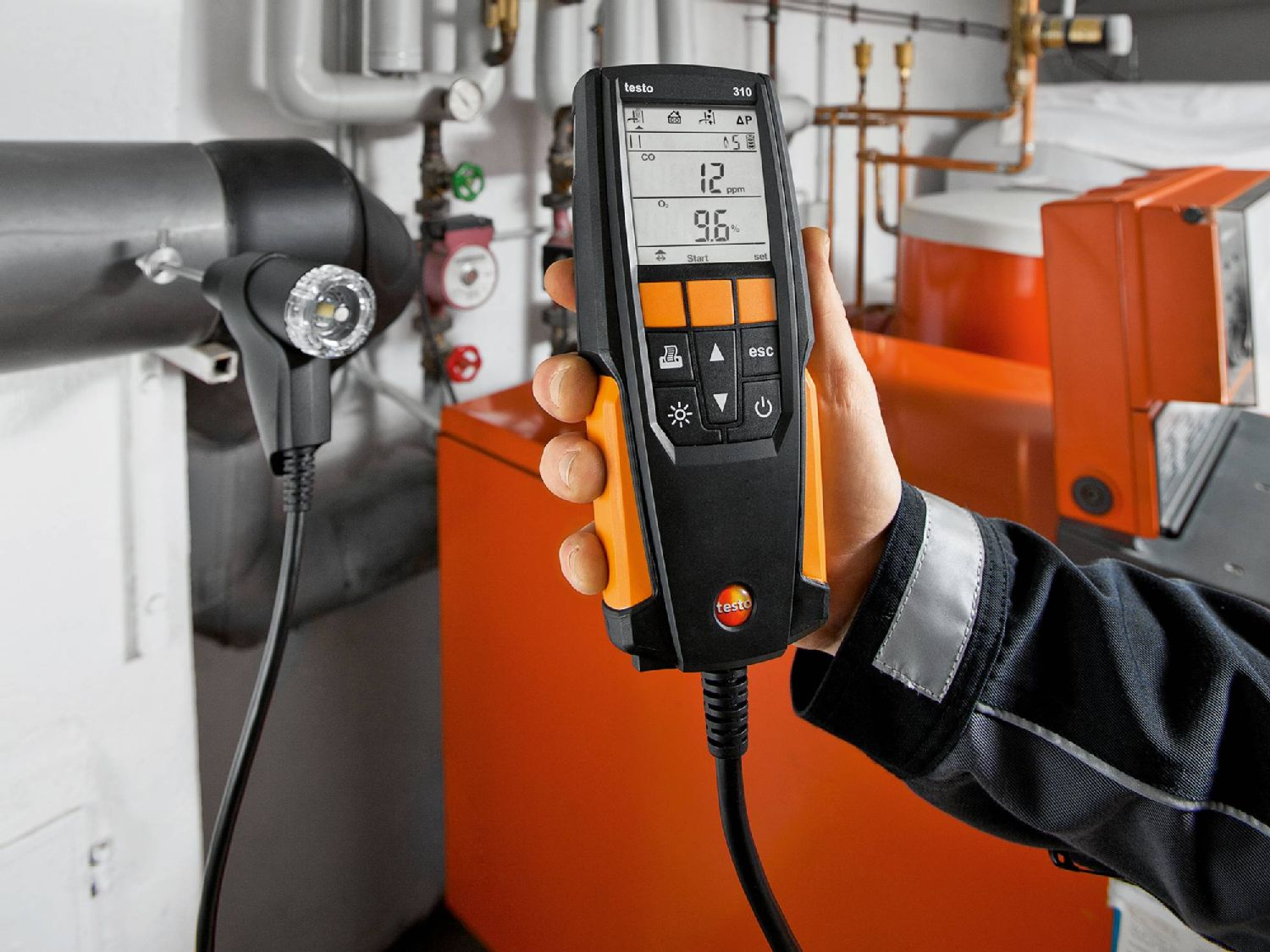 Flue gas analyzer testo 310
