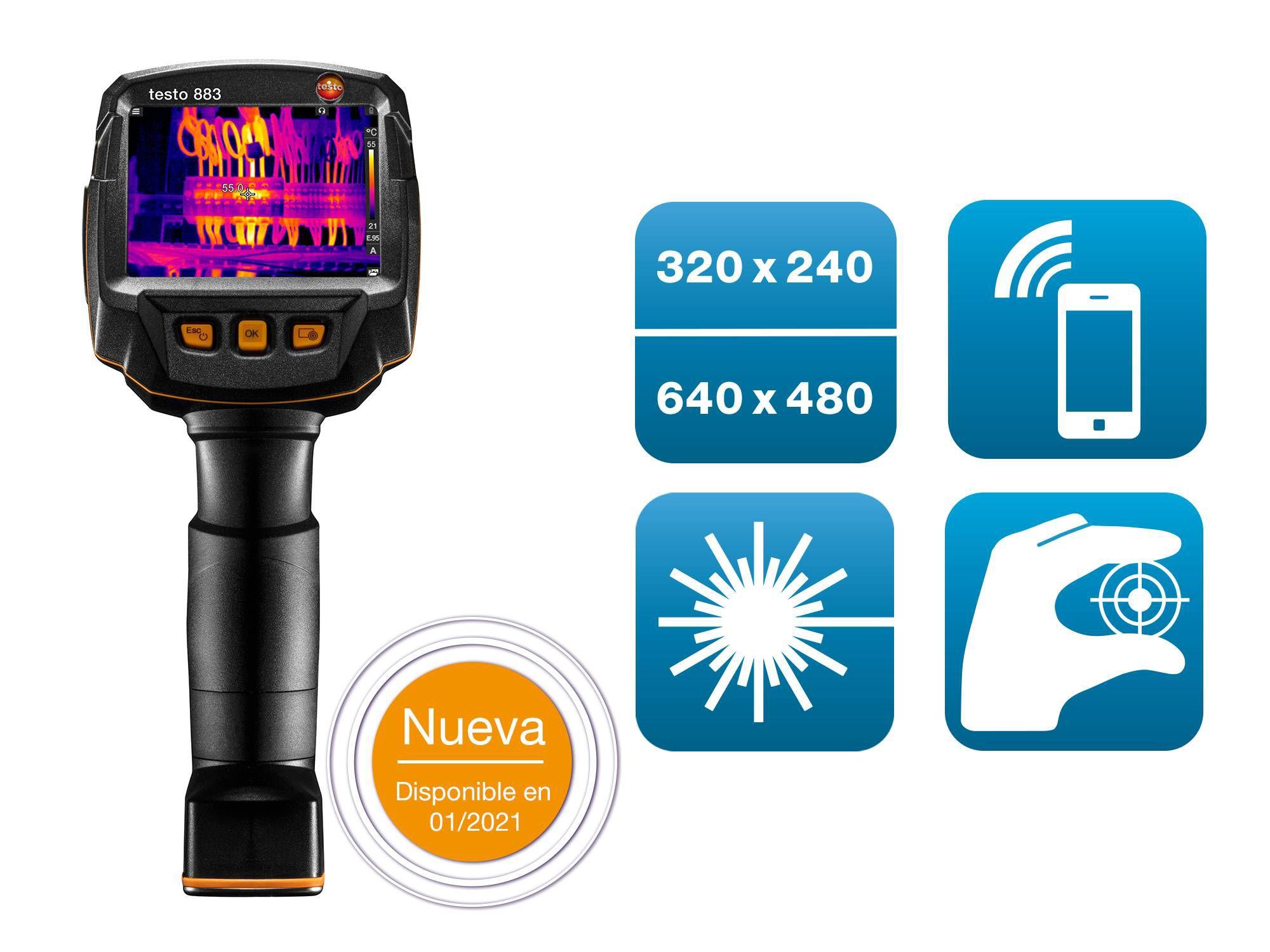 testo 883 cámara termográfica