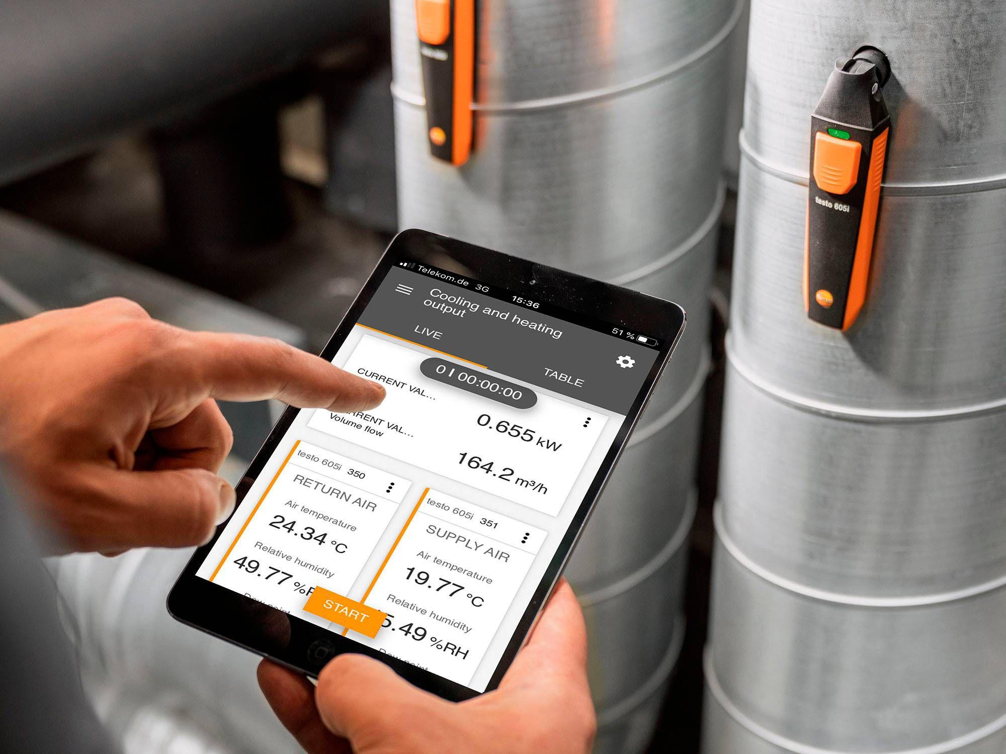 testo Smart App Smart Probes