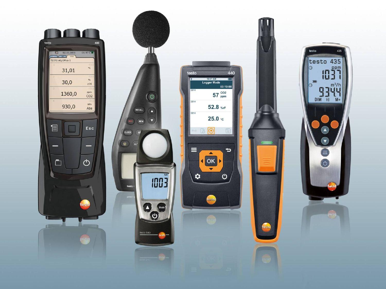 környezeti mérések Testo műszerekkel