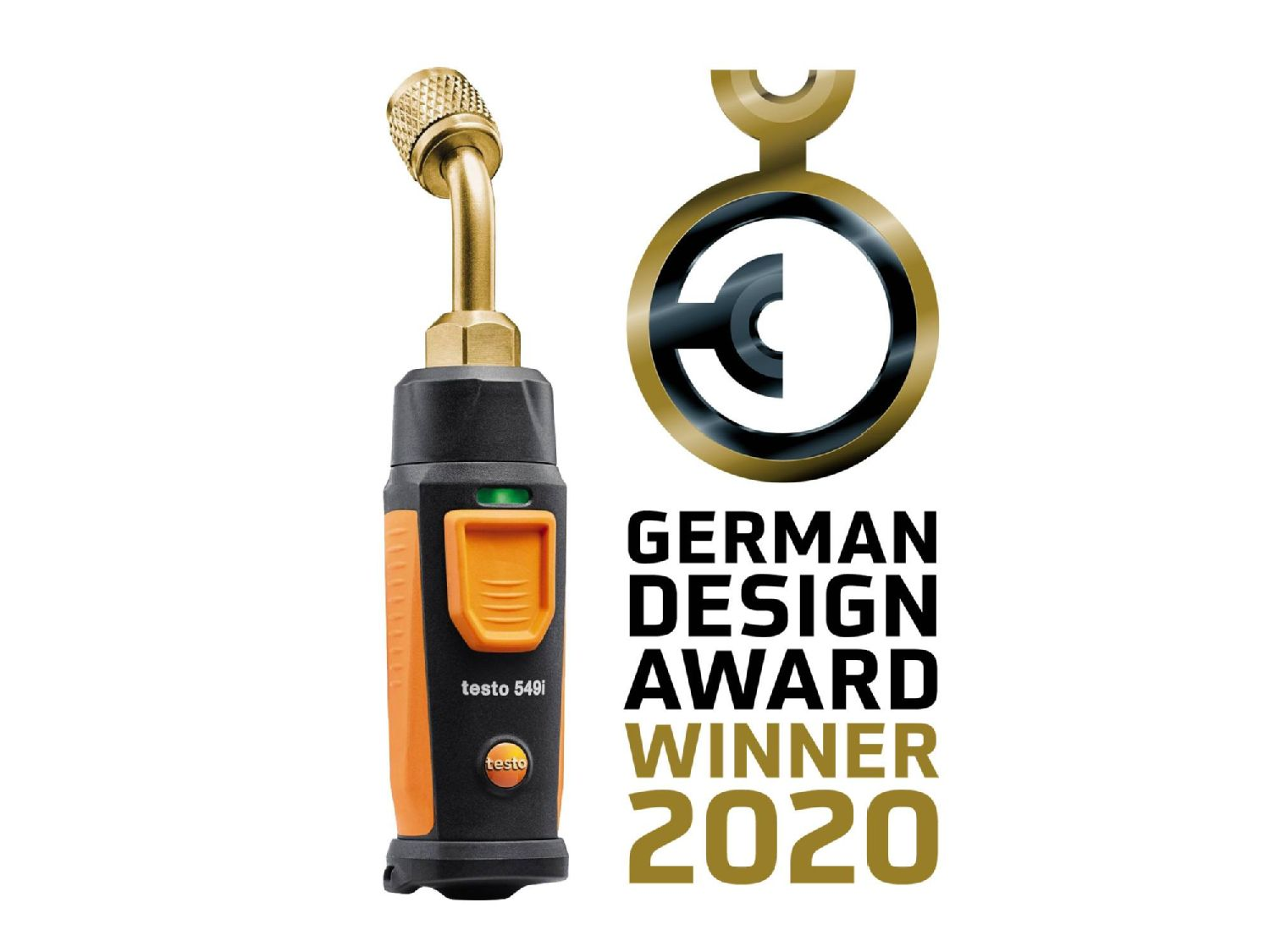testo 549i front winner 2020 German Design Award