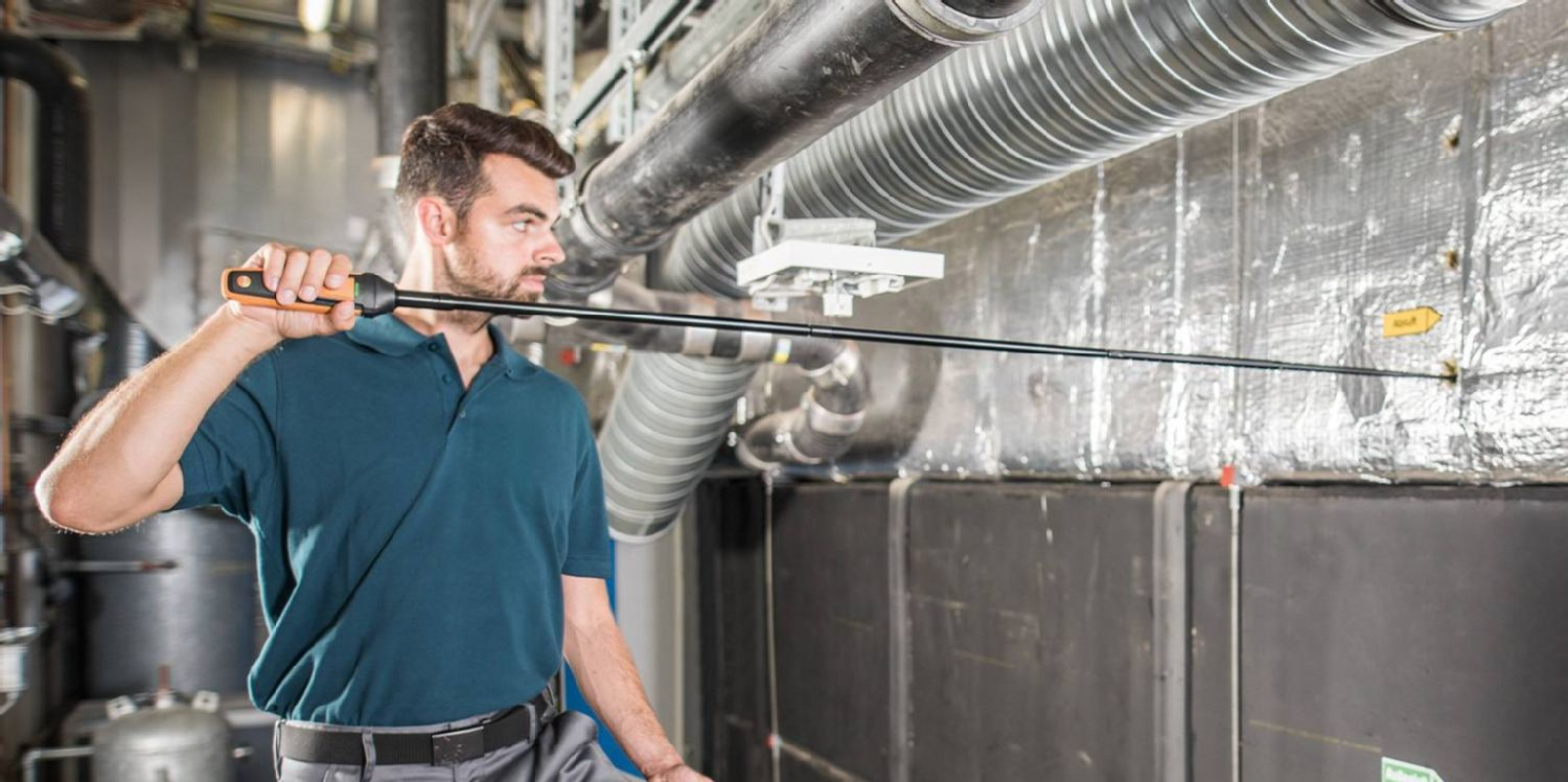 Inspection of industrial and commercial air conditioning systems