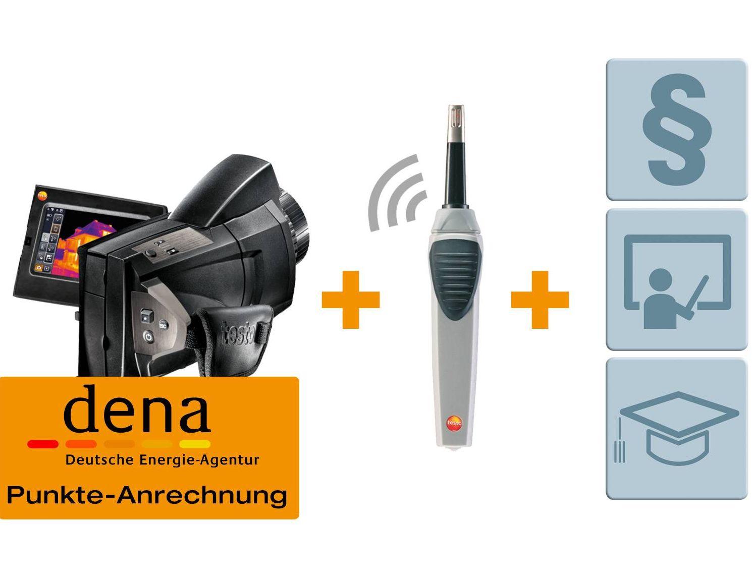 Premium Set für Energieberater - testo 885 + Funk-Feuchtefühler + Seminar