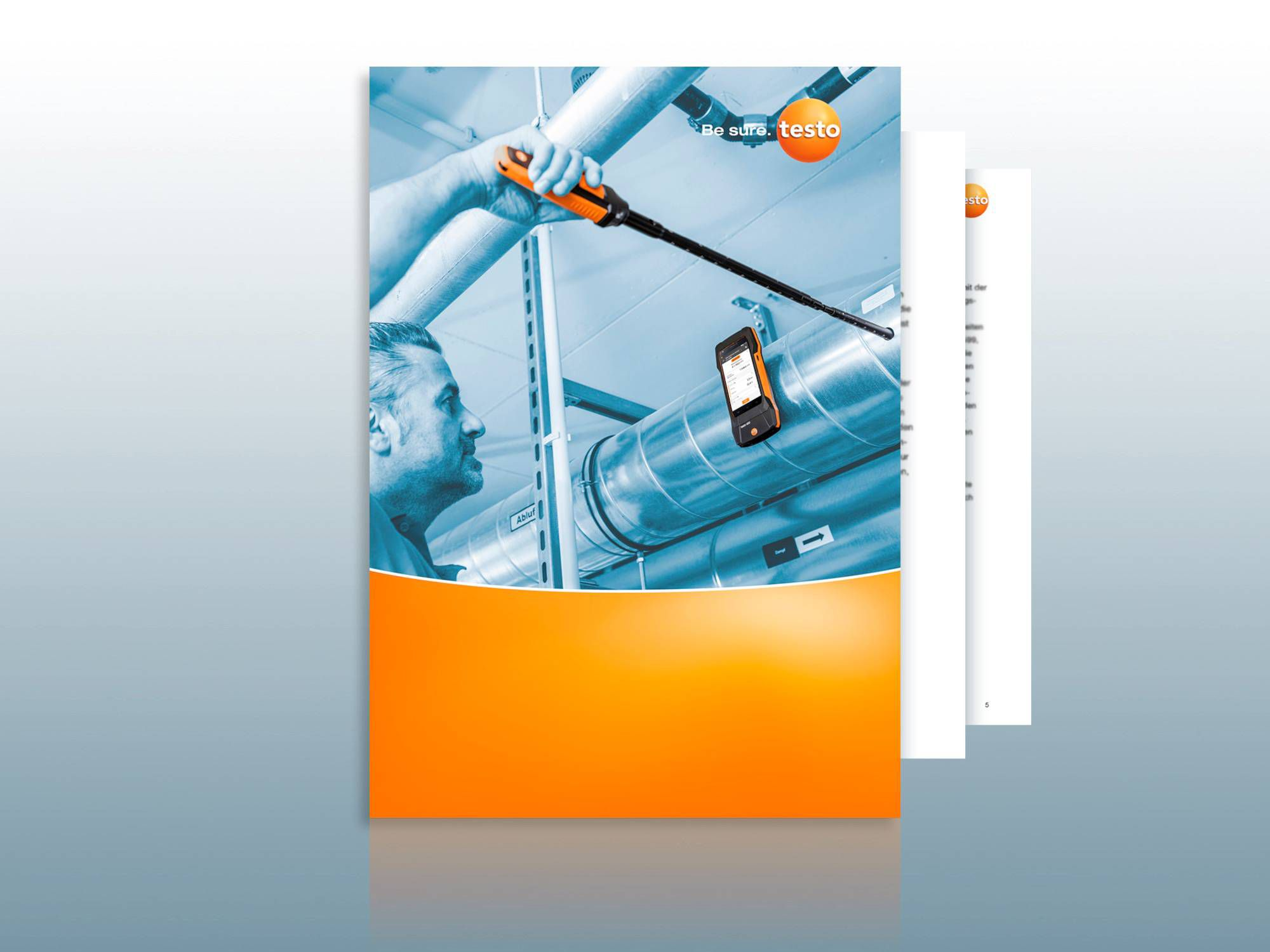 Practical guide: Air flow measurements in ducts according to DIN EN 12599