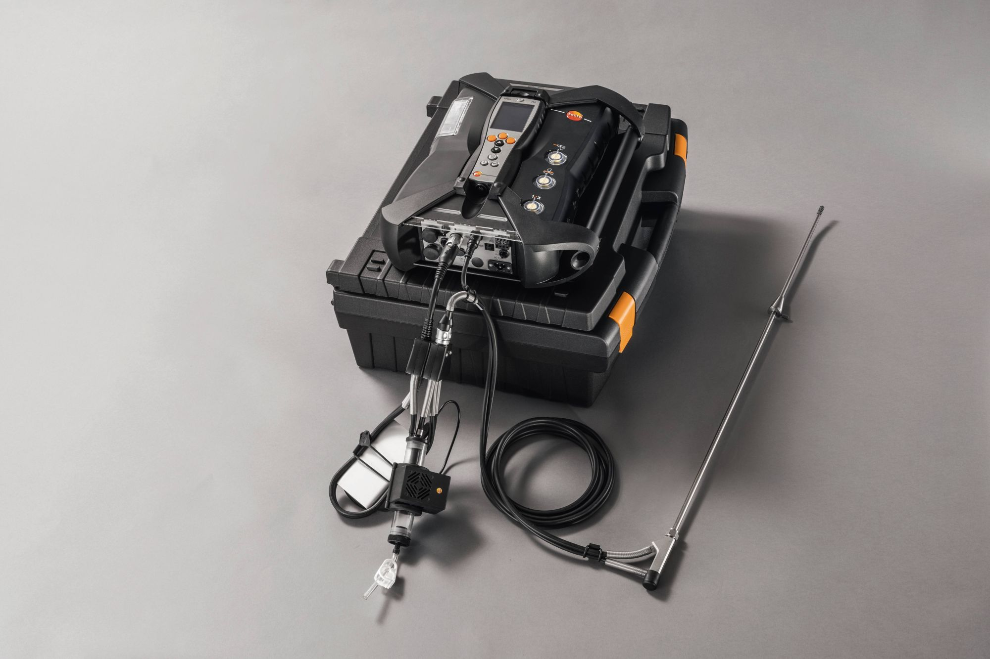 Externe Gasaufbereitung und Abgasanalysegerät testo 350