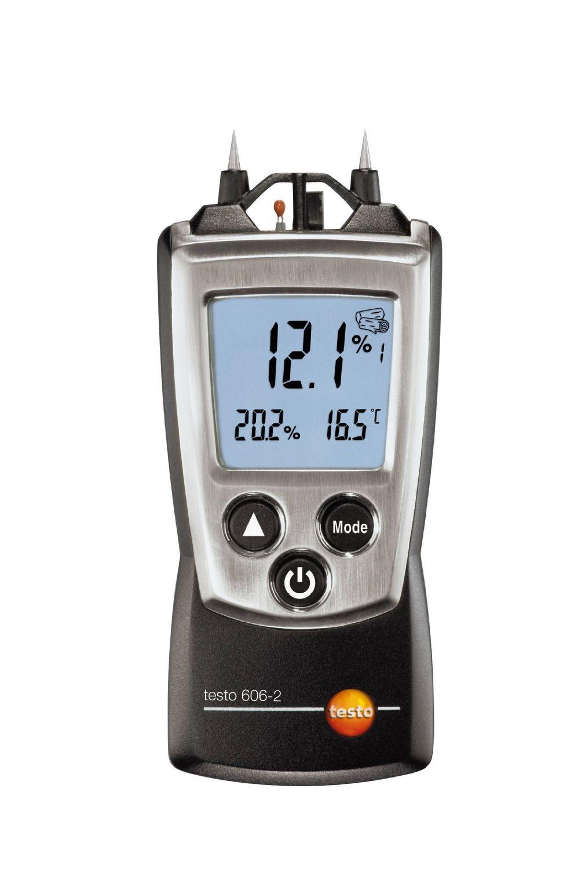 Hygromètre pour l'humidité de l'air et des matériaux