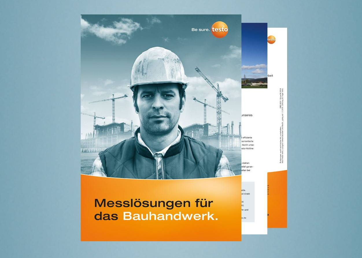 Testo Katalog Bauhandwerk