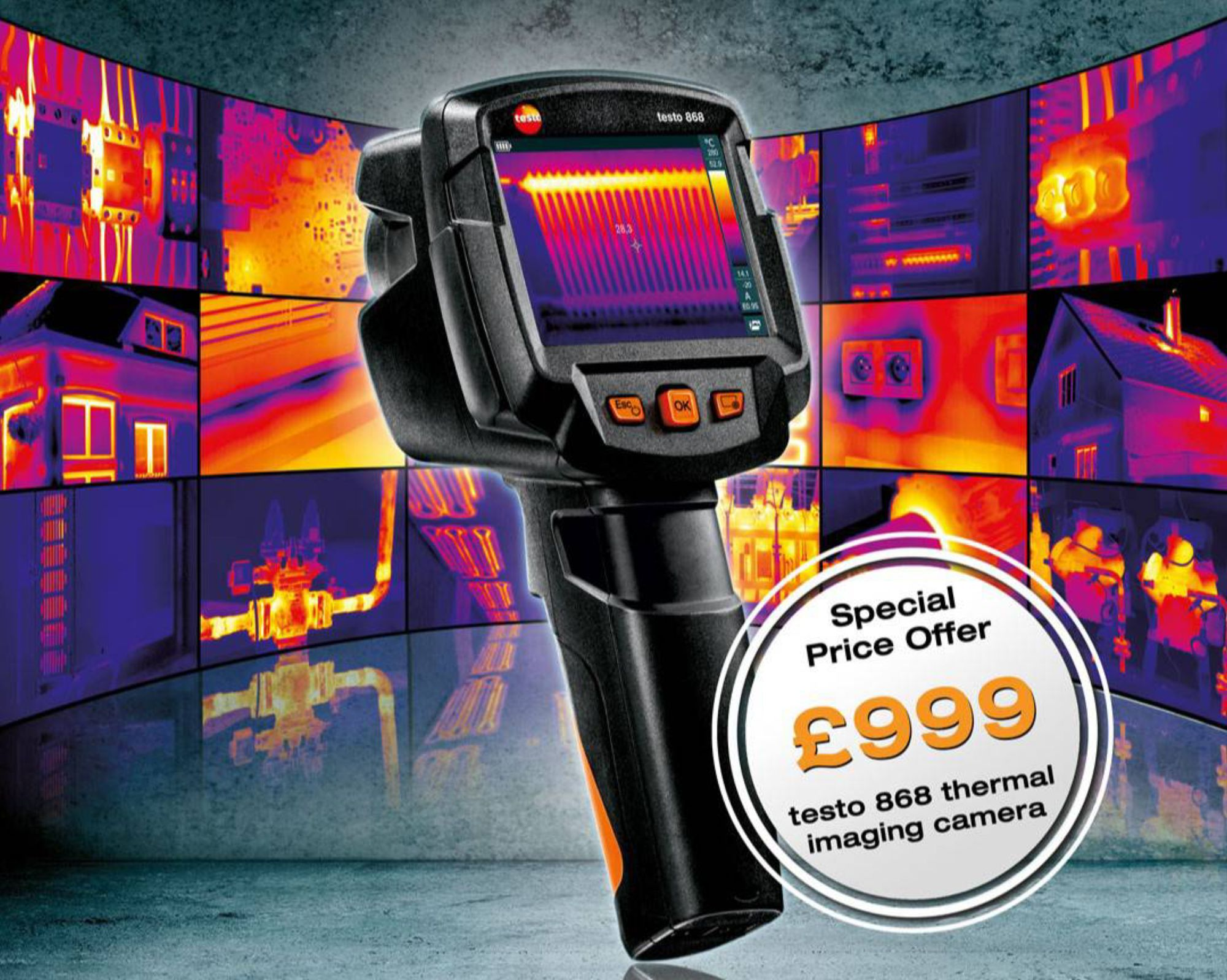 Special Offer on testo 868