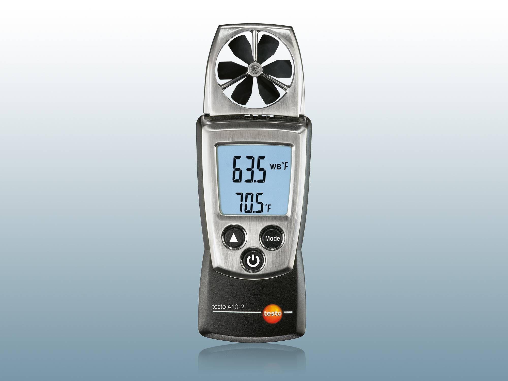 Szárnykerekes légsebességmérő