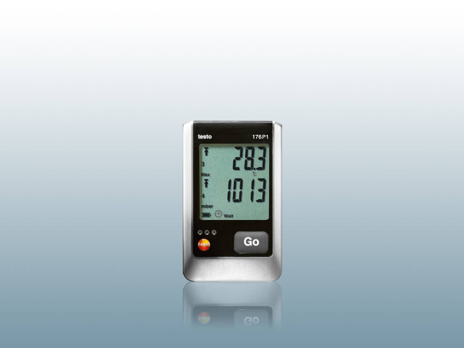Data logger for pressure