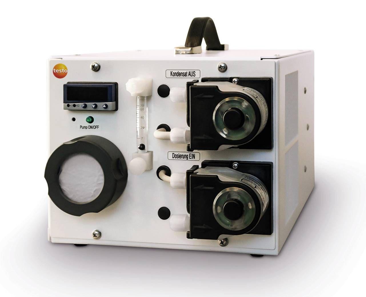 testo 3007高功率低損失煙氣預處理採樣系統