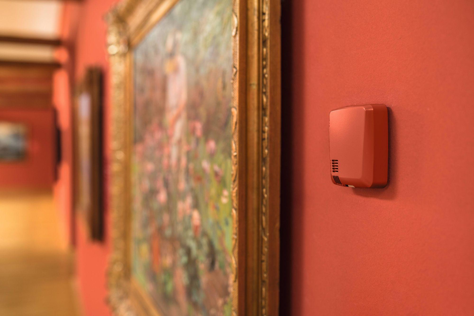 Data  logger em museus