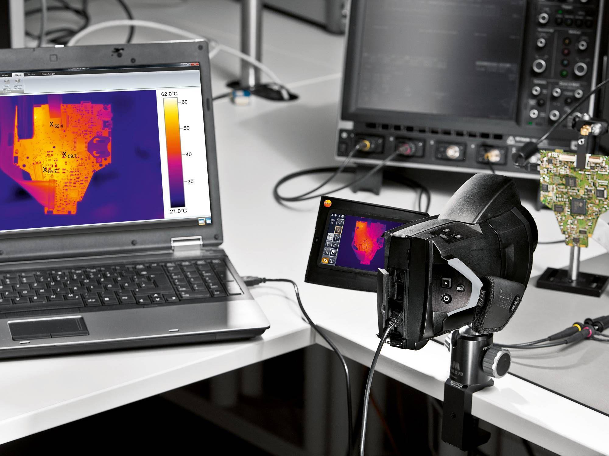 Функции полностью радиометрической видеозаписи