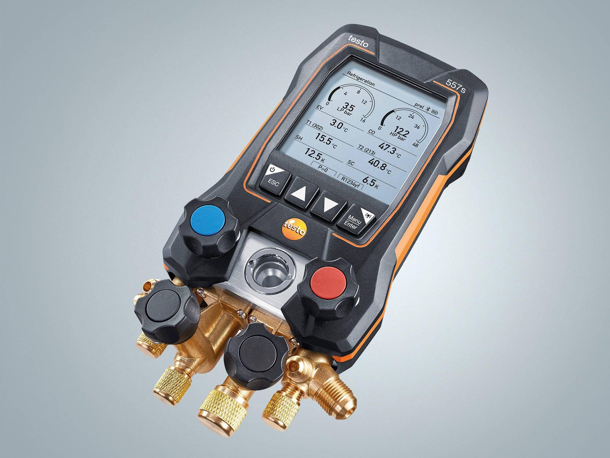 Digital manifold testo 557s