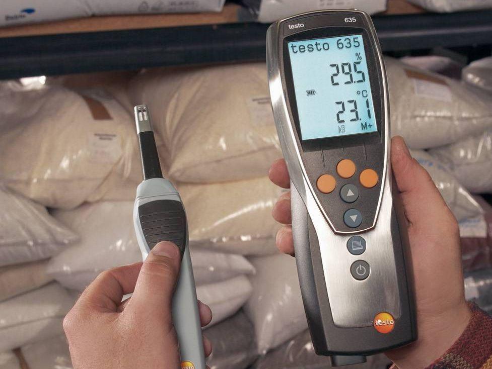 testo 635-2 vocht- en temperatuurmeter