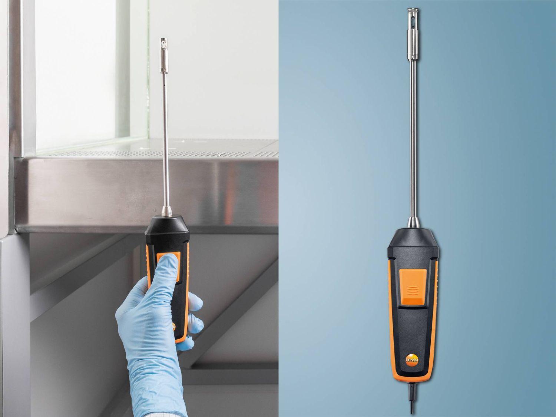testo 440 ClimatePro fume cupboard probe