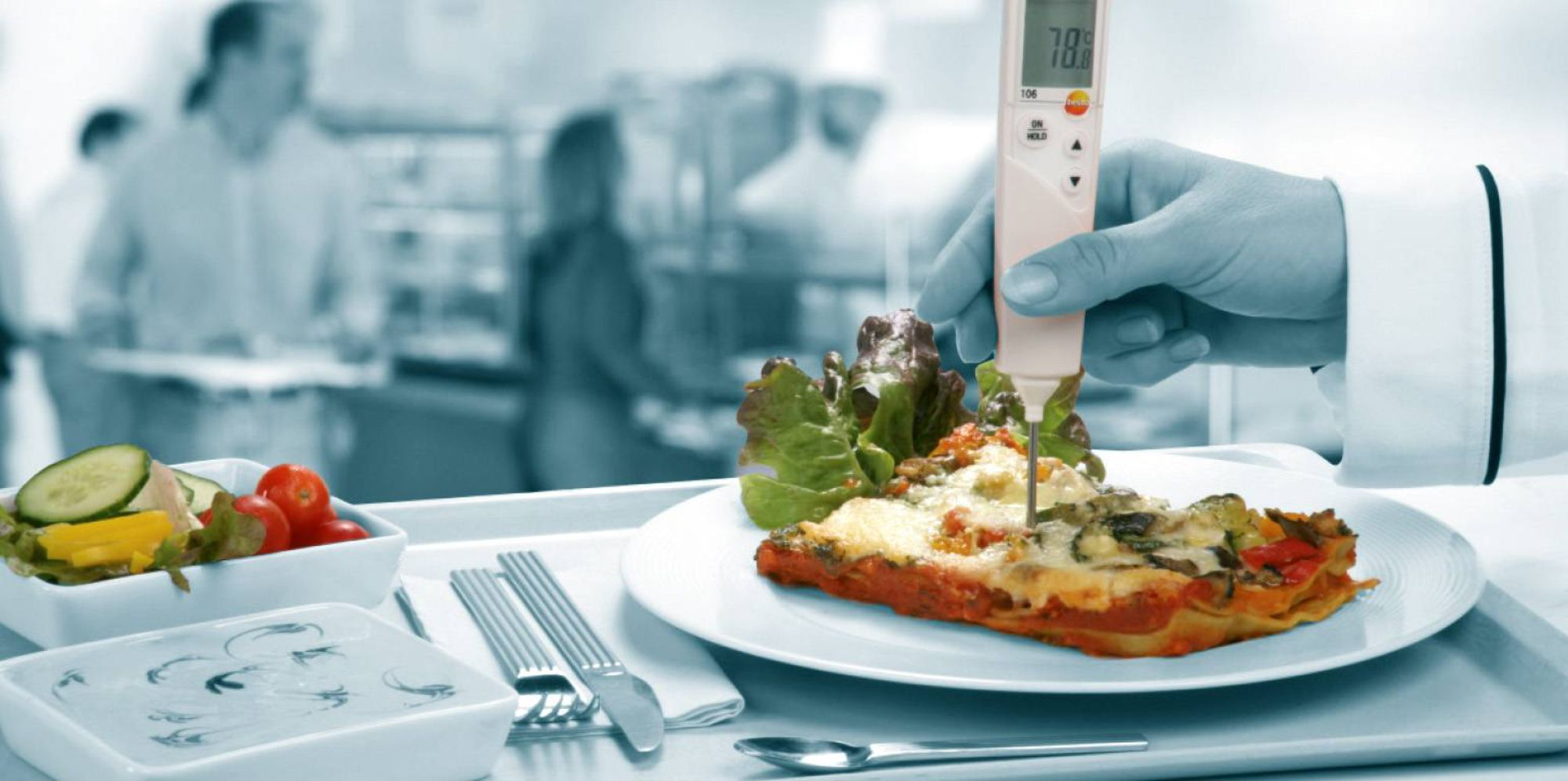 Measurement technology for Restaurants