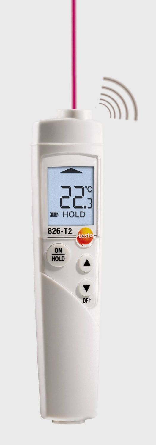 testo 826-T2 temperatuur meetinstrument