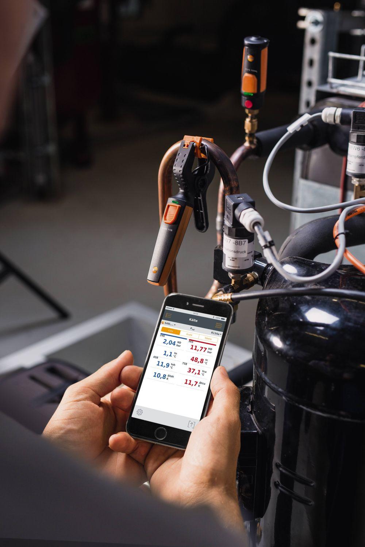Мобильное приложение testo Smart Probes