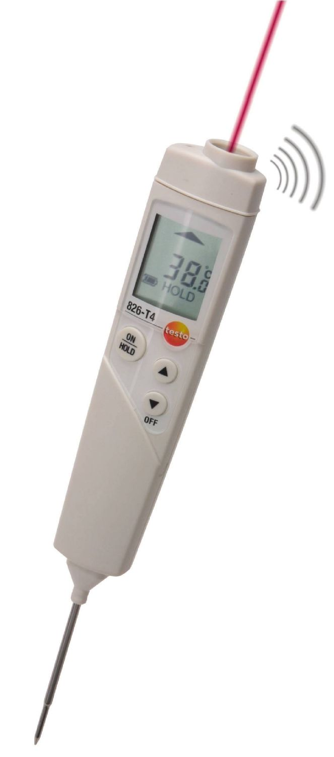 testo 826-T4 temperatuur meetinstrument