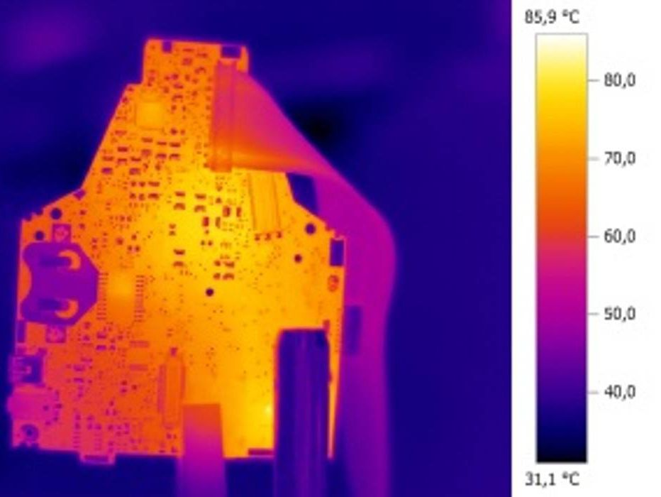 Thermal image platine