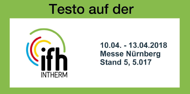 Testo auf der IFH Intherm 2018 in Nürnberg