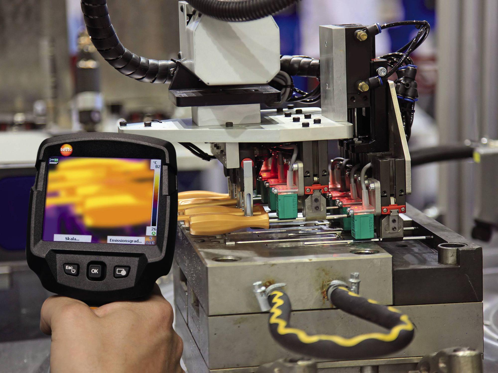 Qualitätskontrolle in der industriellen Produktion