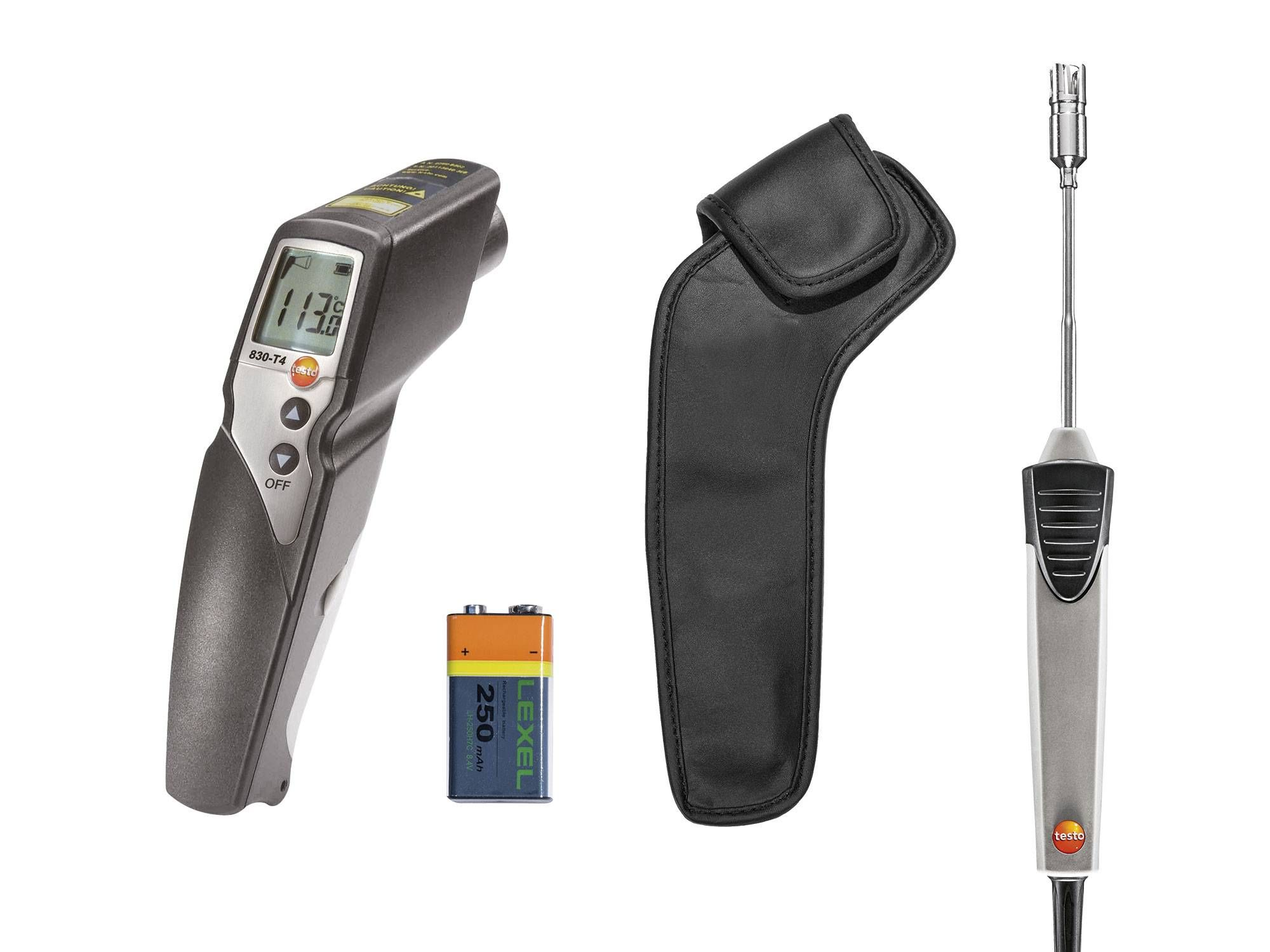 Set testo 830-T4 - Infrared thermometer