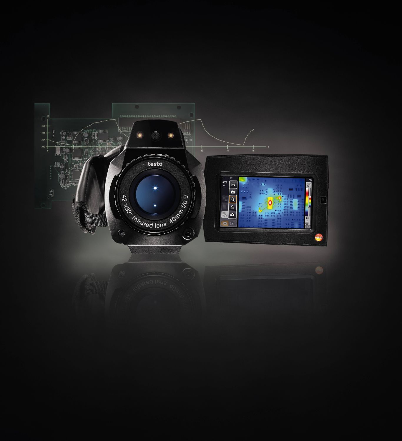 Testo Thermal Imagers - 885/890 (Camcorder type)