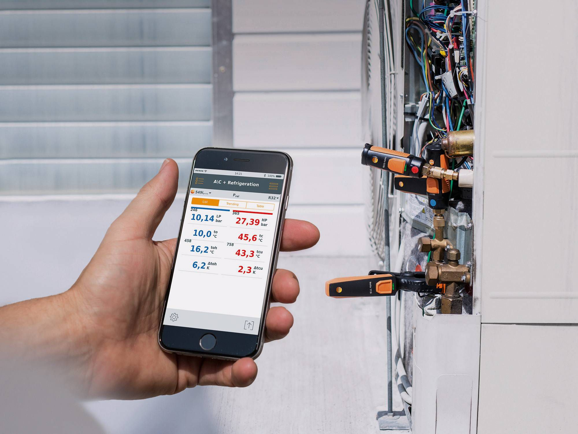 Hygromètre smartphone