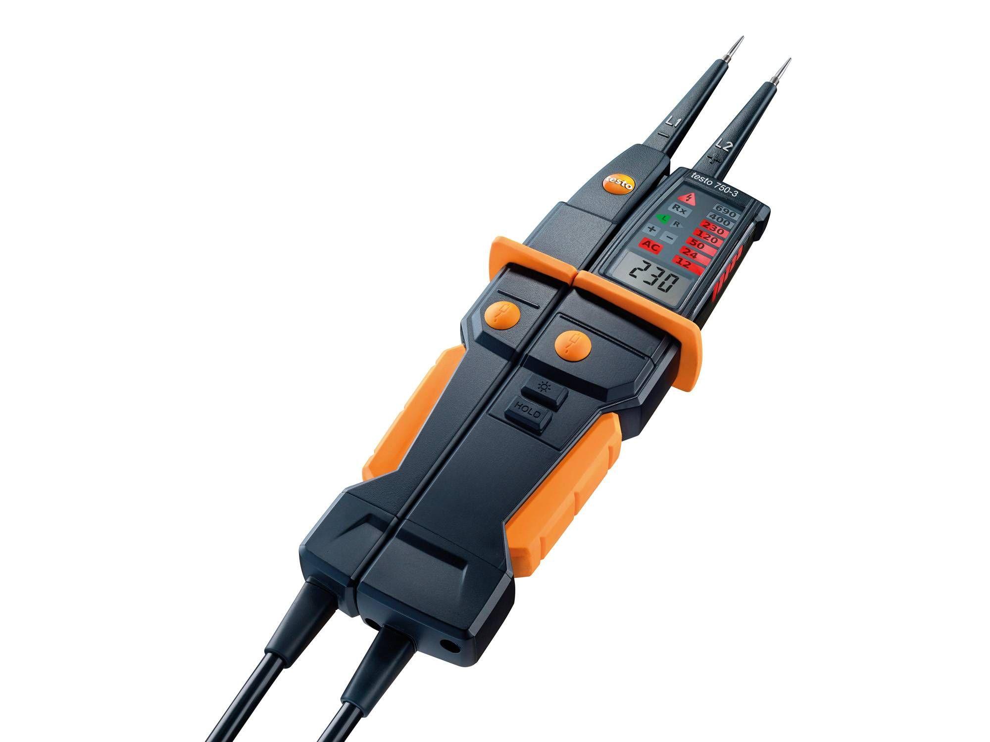 Gerilim test cihazı testo 750-3