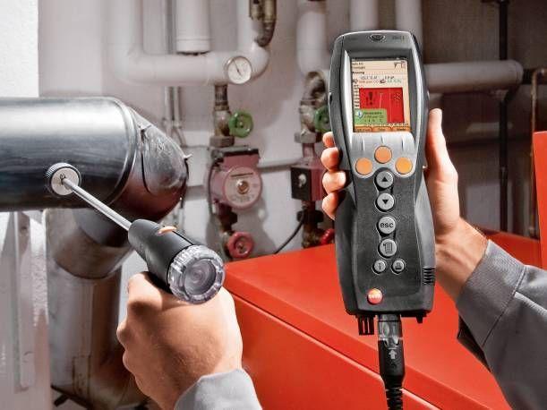 Flue gas analyzer testo 330-2 LX