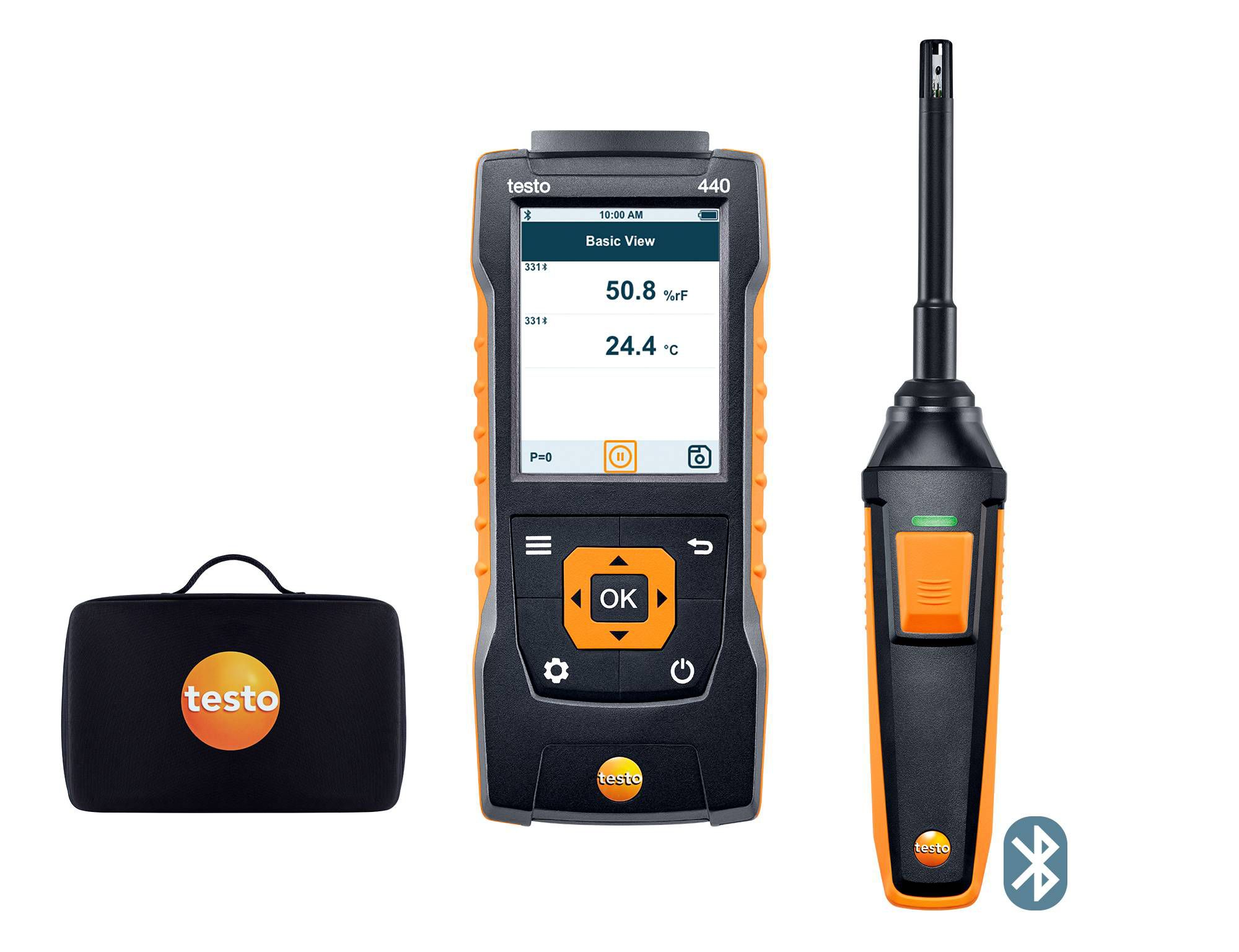 testo 440 Humidity Kit with Bluetooth®