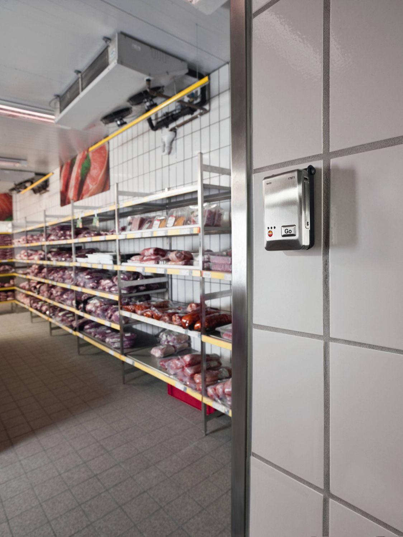 Registro en cámaras frigoríficas con el data logger testo 176T1